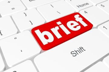 """Button """"brief"""" on keyboard"""