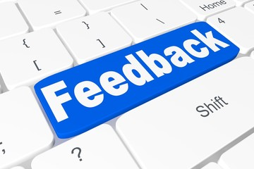 "Button ""feedback"" on keyboard"