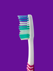 Head of a toothbrush
