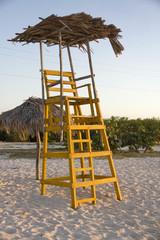 Cuba, Playa Herradura. Torre di avvistamento