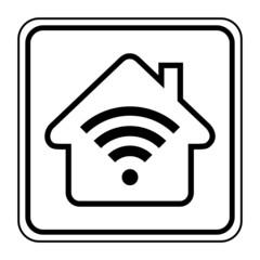 Logo connexion wifi.