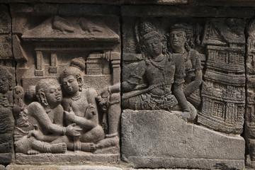 Prambanan Temple near Yogyakarta, Central Java, Indonesia.