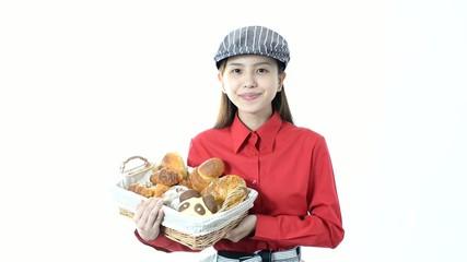 笑顔のパン屋