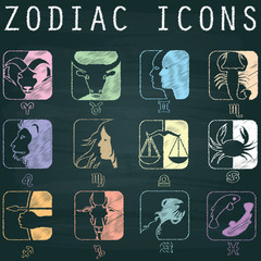 color zodiac icons