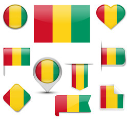 Guinea Flag Colection