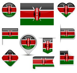 Kenya Flag Collection
