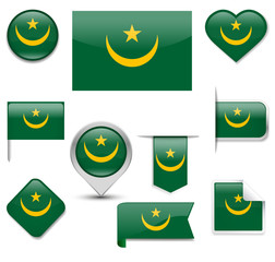 Mauritania Flag Collection