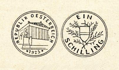 Austrian shilling (first, 1925)
