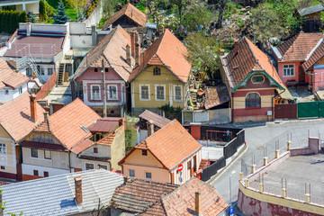Brasov upper view-landmark