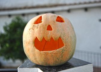Halloween rural, fiesta infantil