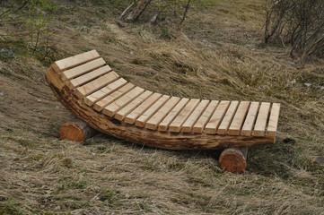 sdraio in legno