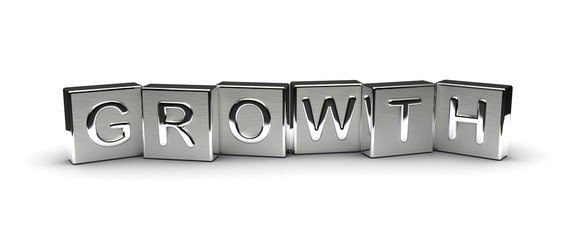 Metal Growth Text