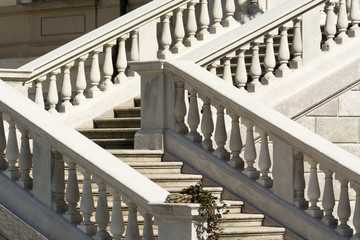 Monza, Villa Reale: staircase