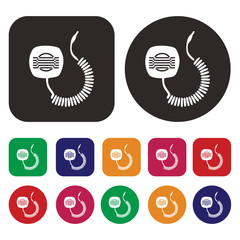 Walkie Talkie icon / Communication icon