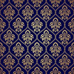 Seamless pattern background in Arabian style.