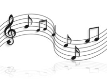 Musical Notes Illustration