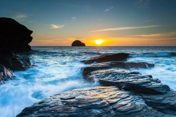 Gull Rock Sunset