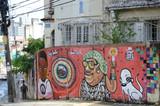 Fototapety Graffiti in Salvador da Bahia, Brazil