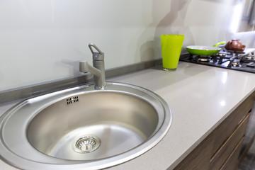 Plastic kitchen clean interior design