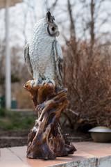 Sculpture of an owl