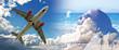 Fototapete Jet - Flugzeug -