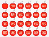 Promotion tag. Price tag. Promotion label vector.