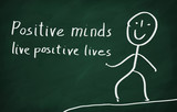 Fototapety Positive minds live positive lives