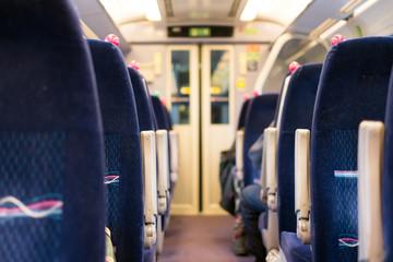 British Train Interior