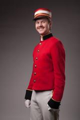 Portrait of a concierge (porter)