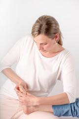 Foot massage- Bowen therapy