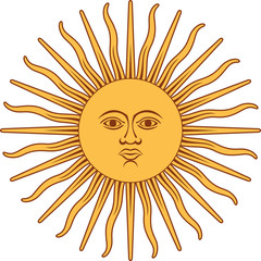 Sun of May (Argentina and Uruguay emblem)