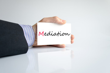 Hand writing Mediation