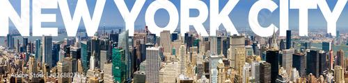 Foto op Aluminium New York New York City Panoramic Skyline