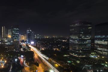 Jakarta Night City