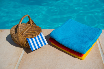 Towels at the swimming pool