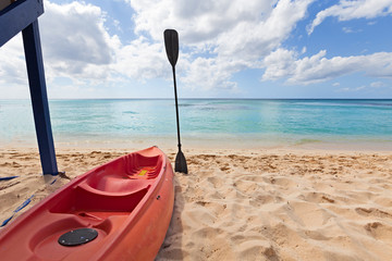 Rent Kayak in the beach