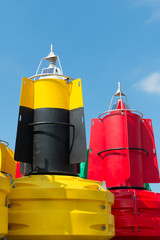 Buoys for the sea
