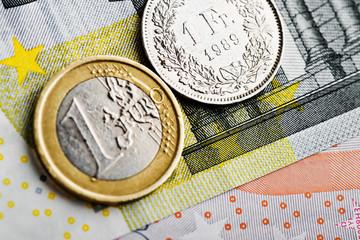 Swiss Franc versus Euro