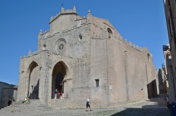 medieval church in Erice