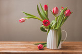 Tulip flower bouquet for Mother