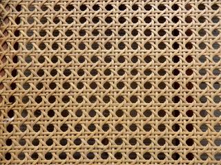 Open Weave Rattan Cane