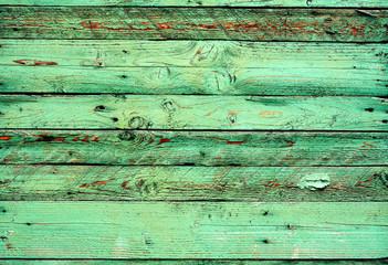 Зеленые старые доски