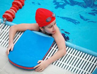 Swiming child