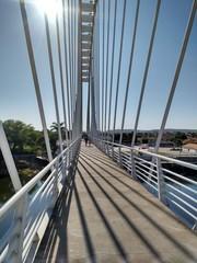 Ponte sobre o Rio Corrente Bahia Brasil