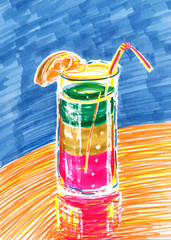 Drawing Cocktail