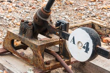 Cerco industrial de Peñarroya-Pueblonuevo XI, cambio de agujas