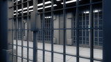 3d interior jail and iron bars - 82708028