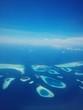 Leinwanddruck Bild - Aerial View Maldives