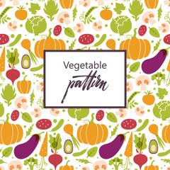 Set of vegetables. Healthy food table.