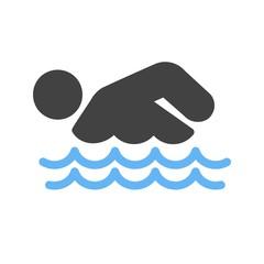 Swimming Person